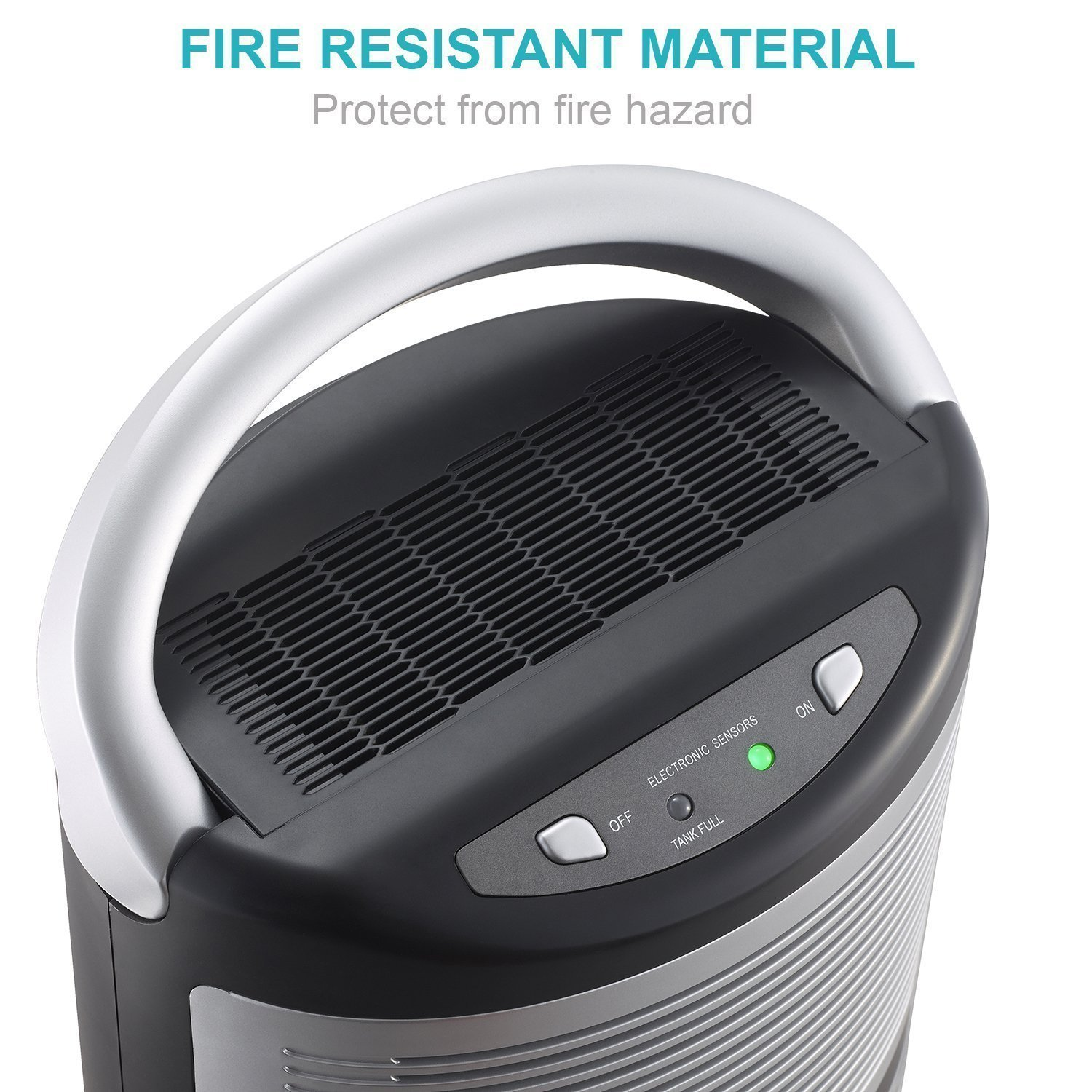 High Performance Low Energy Portable Dehumidifier with Air Purification Function